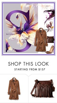 """""""Welcome September"""" by evachasioti ❤ liked on Polyvore featuring Banana Republic, STS Ranchwear and Christian Louboutin"""