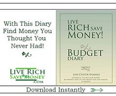 Need to find money hidden in your budget, use this handy tool -- the best Budget Planner ever!  http://liverichsavemoney.com/budget-planner/