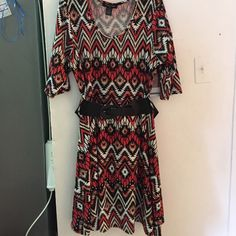 Dress price is set Tribal dress new without tags bought 2 big very flowy Fashion 2 figure  Dresses