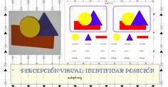 PERCEPCIÓN VISUAL. IDENTIFICAR POSICIONES