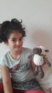 Horgolt bárány, az ari öri-bari :-) 1. - Kreatív+Hobby
