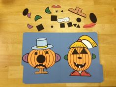 Halloween Speech Therapy Activities including free pumpkin game download.  Also includes activities for working on social skills, grammar, answering questions, etc. | Speech and Language Kids