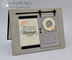 Stampin' Up! Barn Door Slider Card – Stamp With Amy K