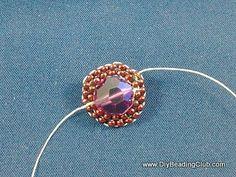 DIY Crystal Flower Ring Tutorial Part 1