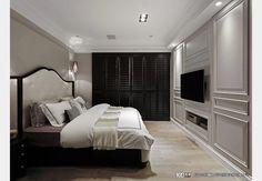 美式風臥室