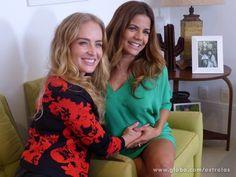 Angélica conhece casa da futura mamãe Nívea Stelmann (Foto: Estrelas/TV Globo)
