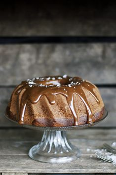 Banoffee cake with salted caramel from Copenhagen Cakes <3