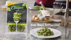 Let's celebrate today around a delicious plate of savoury Basil Fettuccine Nested made with whole eggs ! Their secret? A delightful basil aroma that will make you fall for this recipe, made in the most authentic Italian tradition.
