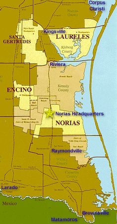King Ranch!  The largest ranch in the United States.  With a working area larger than Rhode Island.  A lot of Texas made history here.  If you like to learn more, here is a link from the King Ranch website  http://www.king-ranch.com/legacy_overview.html