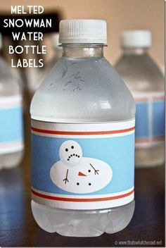 Free Water Bottle Labels at thatswhatchesaid.net