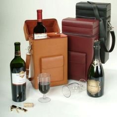 Connoisseur Wine Carrier with Optional Monogramming Burgundy - 620-BURGUNDY-8-PERS