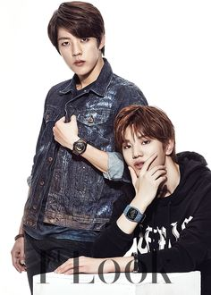 Sung Jong and Sung Yeol - 1st Look Magazine Vol.82