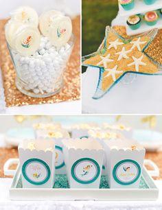 Glittering Mystical Mermaid Birthday Party