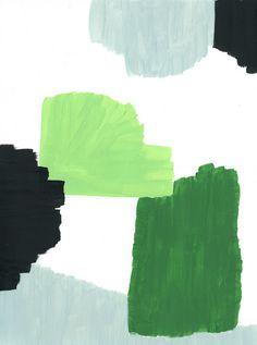 .Ashley Goldberg splashes of green
