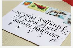 { makes me want to write a letter just to work on the envelope }