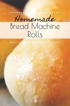 A simple soft and delicious recipe for homemade rolls that can be made in the bread machine. Perfect side for soup or a bun for a sandwich! The post Bread Machine Rolls appeared first on Dessert Park. Home Made Rolls Recipe, Recipe For Homemade Rolls, Soft Buns Recipe, Homemade Buns, Homemade Sandwich, Bun Recipe, Homemade Breads, Homemade Hamburgers, Homemade Art