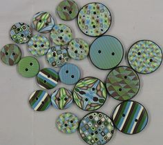 New buttons by lisaclarke, via Flickr