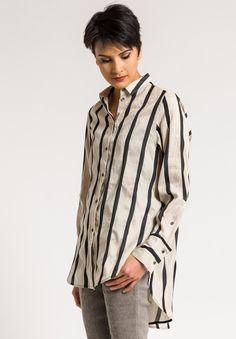 ee3535e6d3 Annette Görtz Stripped Zen Shirt in Zen