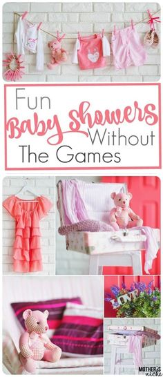 All sorts of Fun Baby Shower Ideas that don't involve playing games
