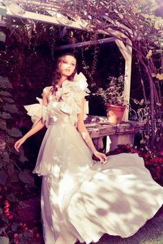 couture gown by Angelo Lambrou http://www.weddingchicks.com/2013/08/28/angelo-lambrou/