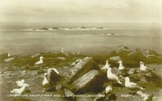 LONGSHIPS LIGHTHOUSE | Land's End, Cornwall: From The First and Last House    ✫ღ⊰n