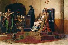 Трупный синод. Папа посадил на трон труп своего предшественника и подверг его допросу, в ходе которого за покойника отвечал спрятавшийся за троном дьякон. Во время суда храм потрясло землетрясение.  После этого знамения чернь взбунтовалась, папа был заточён в темницу и там удавлен, его преемник реабилитировал Формоза и с почестями перезахоронил облаченное в папские ризы тело понтифика.   Позднее Сергий отменил решения по Формозе и подверг его новому порицанию С Сергия начался период…