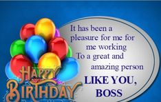 40 Best Birthday Wishes And Quotes For Boss Images Birthday Wishes