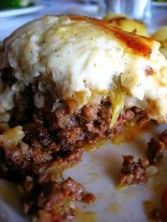 Greek Moussaka. Either use this yoghurt sauce, or my usual cheese sauce. Make sure to salt and drain the aubergine properly