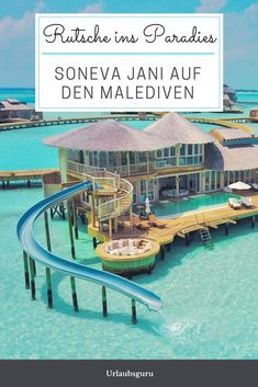 A dreamy concept in an even more dreamy place: the Soneva Jani in the Maldives will not only impress you with its beauty! Read all about one of the most modern hotels in the world. Photo: Soneva Jani Source by urlaubsguru Honeymoon Night, All Inclusive Honeymoon, Honeymoon Cruise, Honeymoon Spots, Romantic Honeymoon, Honeymoon Destinations, Travel Around The World, Around The Worlds, Koh Lanta Thailand