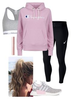 17091ca4f53 cute🌸 by hannahlhouston on Polyvore featuring polyvore moda style Champion  NIKE Calvin Klein adidas fashion
