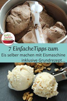 Make Ice Cream, Ice Cream Maker, Baby Food Makers, Ice Ice Baby, Lemon Curd, Food Humor, Cookies And Cream, Cream Recipes, Cream Cake