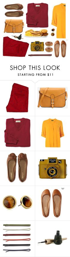"""""""Untitled #1445"""" by tinkertot ❤ liked on Polyvore featuring Hollister Co., Dorothy Perkins, Aéropostale, Holga, Trina Turk, Madewell and Jane Iredale"""