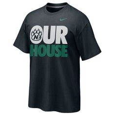 NIKE COTTON RECOVER TEE $24.98  College apparel available at the book store at Northwest Missouri State University.