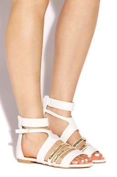Lola Shoetique - Gilt Sundown - White, $30.99 (http://www.lolashoetique.com/gilt-sundown-white/)