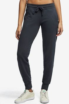 60f5395f4d0 They even look comfortable.American Giant Essential Jogger