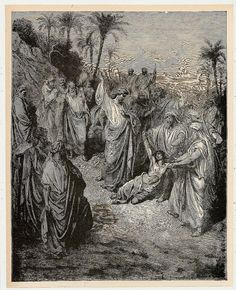 Old Holy Bible | Old Antique 1890 Biblia Holy Bible SWEDEN GUSTAVE DORE Book Plate ...