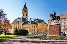 Széchényi tér I Szeged Atlantis, Notre Dame, Mansions, Country, House Styles, City, Building, Amazing, Pictures