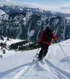 Idaho: Ski the slopes of Sun Valley.
