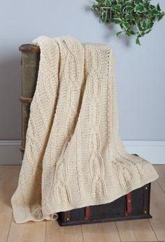 3. Favorite summer knitting pattern: Celtic Knot Crochet Afghan--starting now for a winter gift