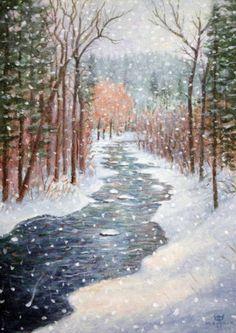Monte-Dolack-January-On-Rattlesnake-Creek