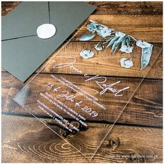 Convites de Casamento Originais & Personalizados | Diferente Acrylic Wedding Invitations, Destination Wedding Invitations, Printable Wedding Invitations, Wedding Planner, Wedding Stationery, Invites, Wedding Cards, Our Wedding, Dream Wedding