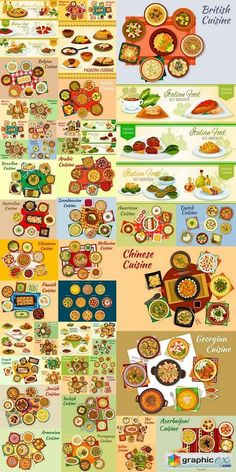 World food vector 3