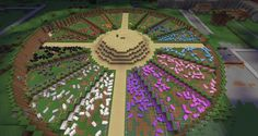 Minecraft Wool Farm