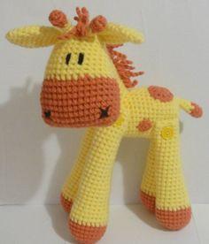 #giraffe  #crochet  #stuffed animals https://www.facebook.com/pages/AlleyCatCraft/126641694073339