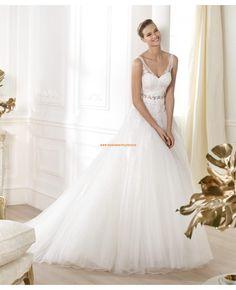 2014 Luxuriöse Brautkleider aus Tüll und Satin