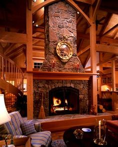 13 Best Fireplaces Images Timber Frame Homes Wooden