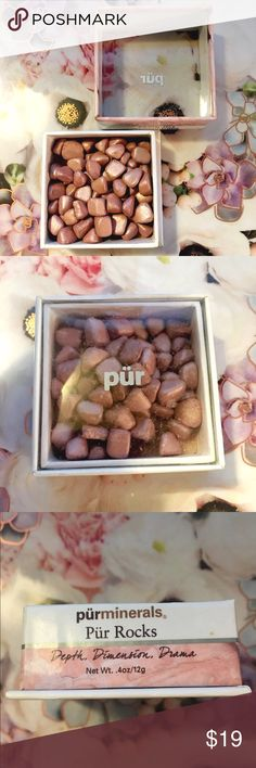🌷Sale🌷PurMinerals Pur Rocks Blush New Pur Minerals Pur Rocks. Perfect pigmentation for Blush. Pur Minerals Makeup Blush