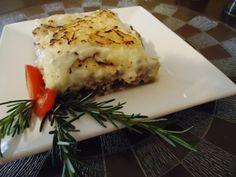 Receita de moussaka: lasanha turca com carne moda e berinjela