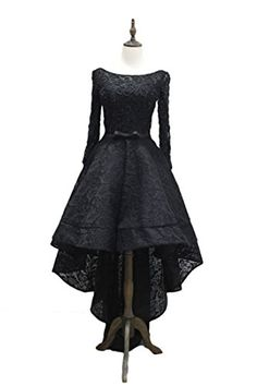 Beautbride Womens Hilow Lace Beaded Evening Prom Dress with Sleeves Black 18W -- Click for Special Deals #HomecomingDresses2017
