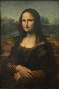 La Gioconda(Mona Lisa), Leonardo Da Vinci, - モナ・リザ -  レオナルド・ダ・ヴィンチ
